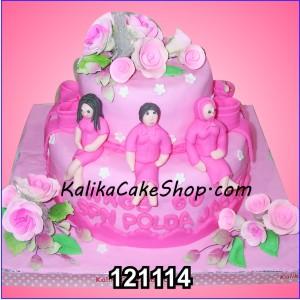 Cake Susun Bhayangkari