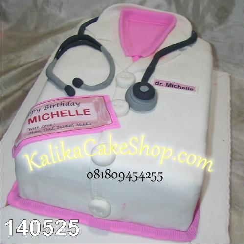 Kue Ulang Tahun Dokter - Michelle