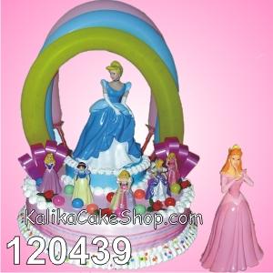 Kue Ulang Tahun Princess balon