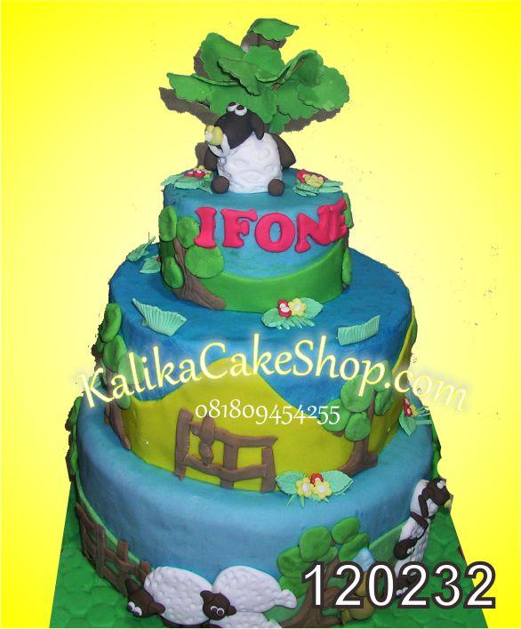 Shaun The sheep Cake ss-3 Ifone