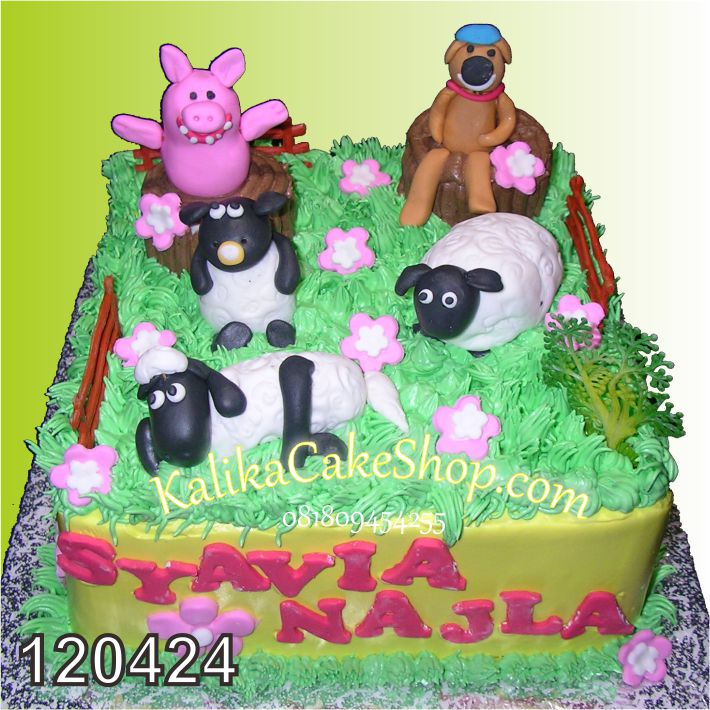 Kue Ulang Tahun Shoun The Seep Syivia