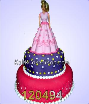 Kue Ulang Tahun Barbie Susun 3