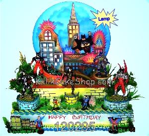 Kue Ulang Tahun Batman 40x60