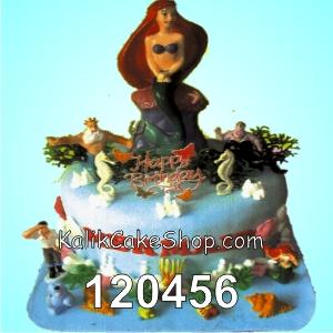 Kue Ulang Tahun Little Mermaid