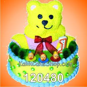 Kue Ulang Tahun Panda 1st
