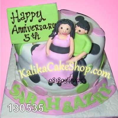 Cake Anniversary Sarah&Azry