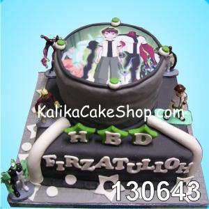 Cake Ulang Tahun Benten 2 SS Firzatullah