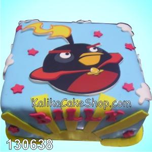 Kue Ulang Tahun Angry Bird Billy