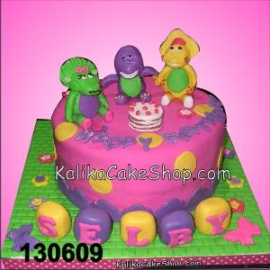 Kue Ulang Tahun Barney to Selby