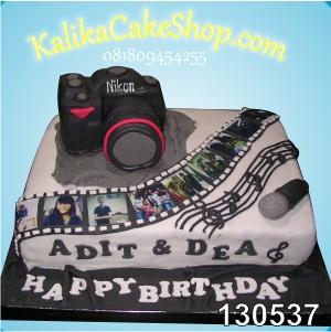 Kue Ulang Tahun Camera Adit & Dea