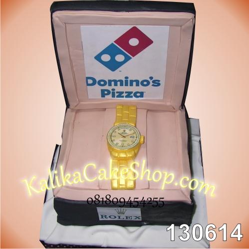 Kue Ulang Tahun Domino Pizza