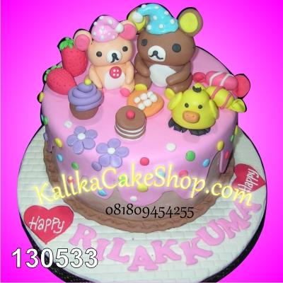 Kue Ulang Tahun Rilakuma