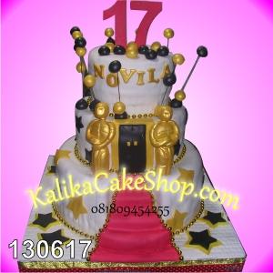 Kue Ulang Tahun Sweet 17th Novila
