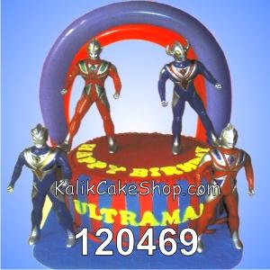 Kue Ulang Tahun Ultramen Balon