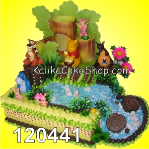 Kue Ulang Tahun Winnie the pooh