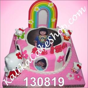 Hello Kitty Cake For Aliza