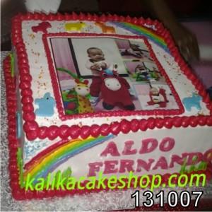 Kue Ulang Tahun Edible Photo Fernando
