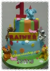 Kue Ulang Tahun Jungle Rainer
