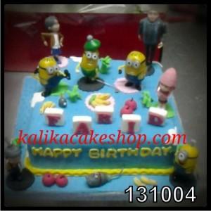 Kue Ulang Tahun Minion Farid