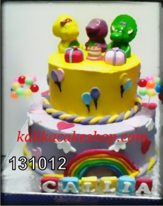 Kue ulang tahun Barney Callia