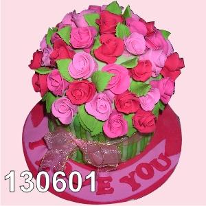 Cake Rose I love You