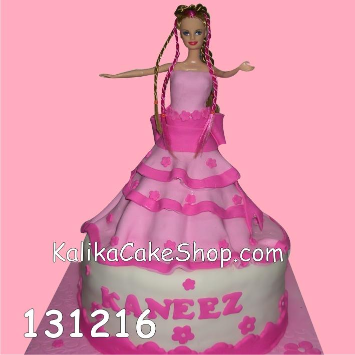 Kue Ulang Tahun Barbie Kanez
