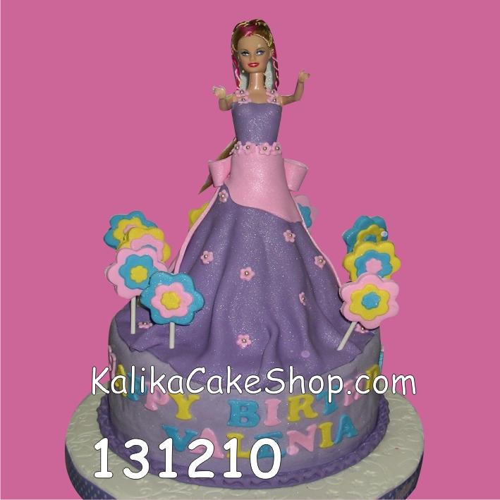 Kue Ulang Tahun Barbie Valenia