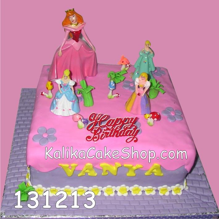 Kue Ulang Tahun Barbie vanya