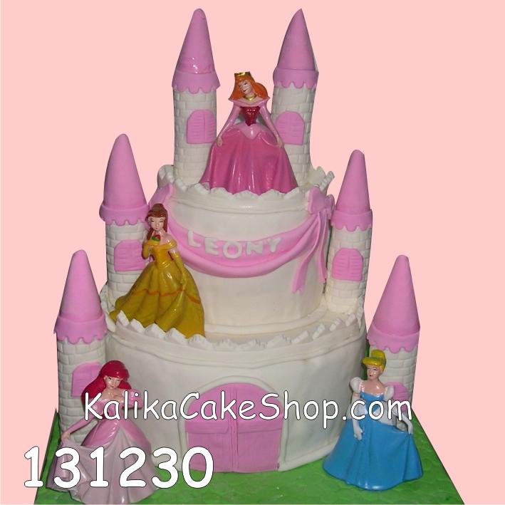 Kue Ulang Tahun Castle Leony
