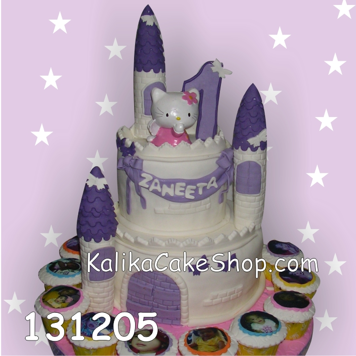 Kue Ulang Tahun Castle Zaneta