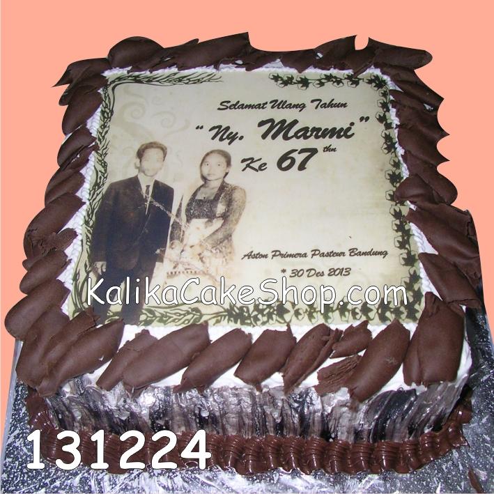 Kue Ulang Tahun Edible Cake classic