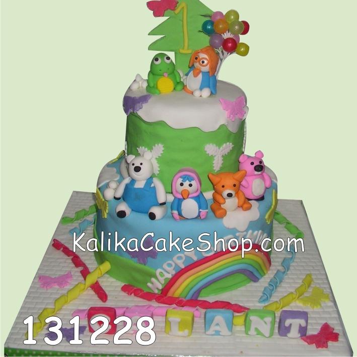 Kue Ulang Tahun Pororo Galant
