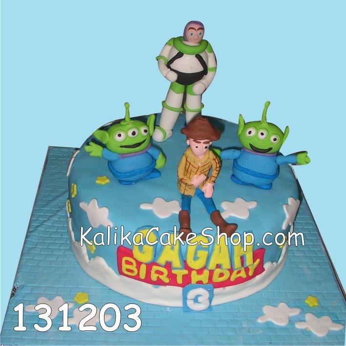 Kue Ulang Tahun Toy Story Gagah
