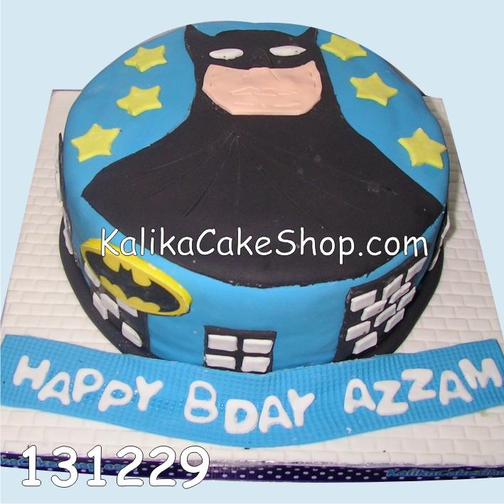 Kue Ulang tahun Batman Azzam
