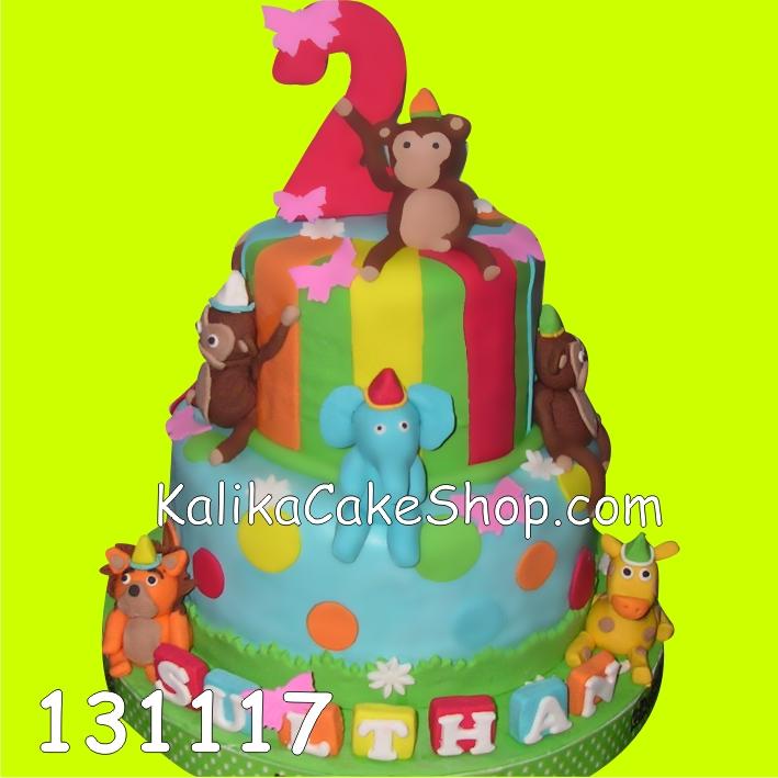 Kue Ulang tahun Junggle Sulthan
