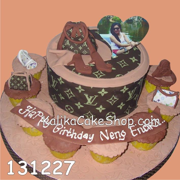 Kue Ulang tahun LV Set Endri