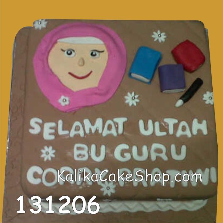 Kue ulang tahun Bu Guru