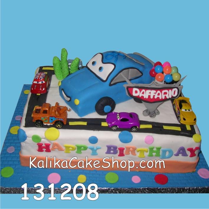 Kue ulang tahun Cars Daffario