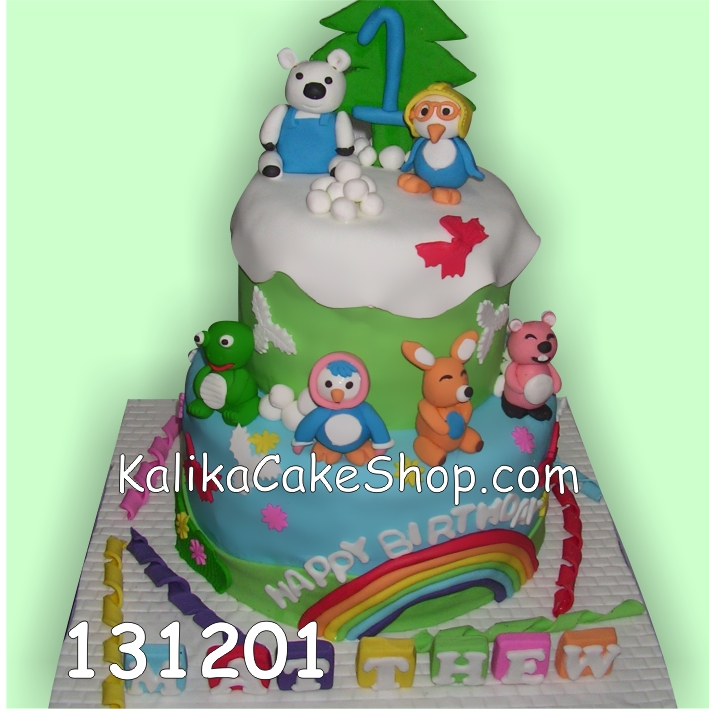 Kue ulang tahun Pororo Mathew