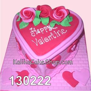 cake happy valentine rose