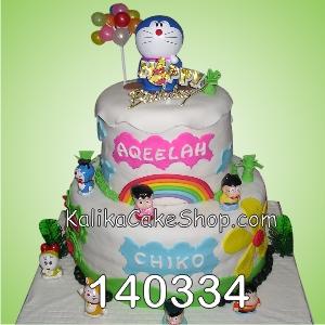 Dora Emon Cake Chiko