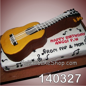 Guitar Cake Anggi