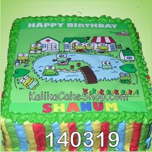 Keropi Cake Shanum