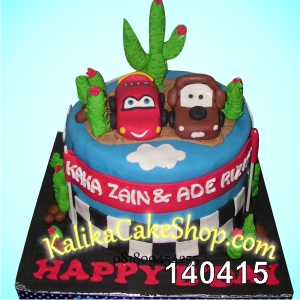 Kue Ulang Tahun Cars