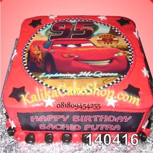 Kue Ulang Tahun Edible Cars