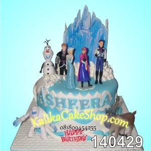 Kue Ulang Tahun Fozen Asheera