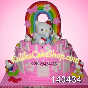 Kue Ulang Tahun Hello Kitty Raisha