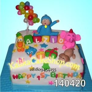 Kue Ulang Tahun Pororo Alzio