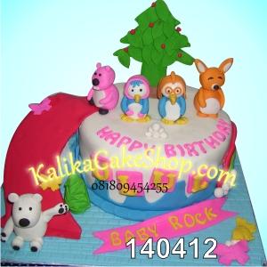 Kue Ulang Tahun Pororo Ulul