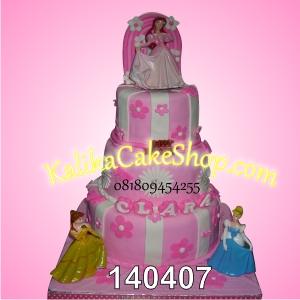 Kue Ulang Tahun Princes Clara